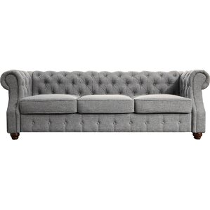 Mulhouse Furniture Olivia Tufted Chesterfield Sofa Image
