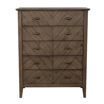 Orren Ellis Nikhat 3 Drawer Dresser With Mirror Reviews Wayfair