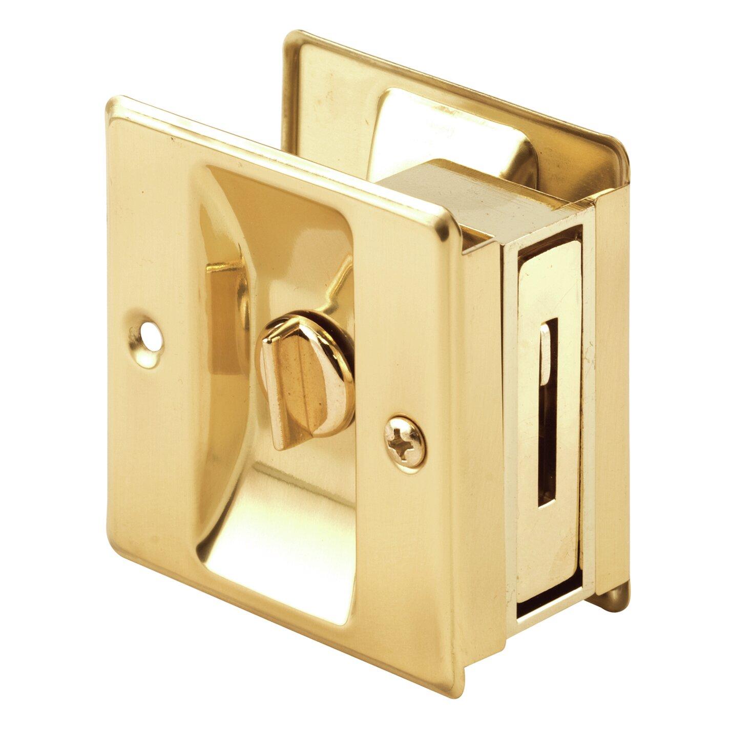 Primeline Privacy Lock Pocket Door Hardware With Pull Reviews