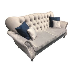 Ivana 3 Seater Chesterfield Sofa By ClassicLiving