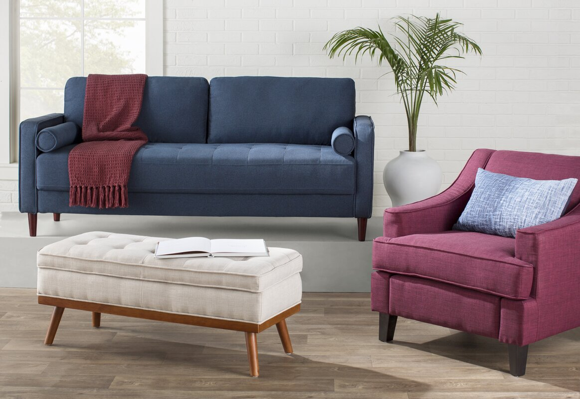 Ronquillo Upholstered Storage Bench & Reviews | Joss & Main