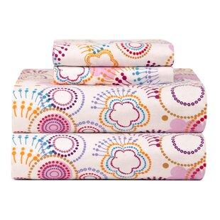 Celeste Home Ultra Soft Flannel Poppi Cotton Sheet Set