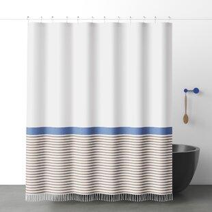 bihari cotton single shower curtain
