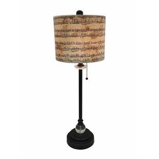 Bluemel Musical Notes Design 28 Table Lamp Set (Set Of 2) by Winston Porter #2