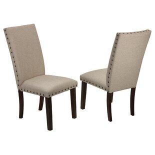 Affordable Price Kenlee Upholstered Dining Chair (Set of 2) (Set of 2) by Gracie Oaks Reviews (2019) & Buyer's Guide