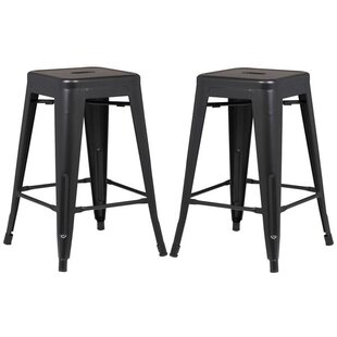 Alyssa 24 Bar Stool (Set of 2) by Zipcode Design