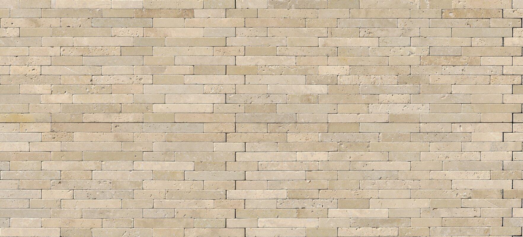 Msi chiaro tumbled veneer travertine staggered tile in beige chiaro tumbled veneer travertine staggered tile in beige dailygadgetfo Images