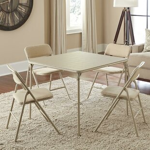 Sensational 34 Square Folding Table Set With 4 Chairs Squirreltailoven Fun Painted Chair Ideas Images Squirreltailovenorg