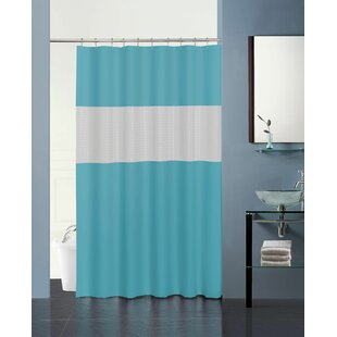 Green Striped Shower Curtains Youll Love
