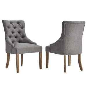 Magnificent Lark Manor Agnes Side Chair Set Of 2 Koirong Mainoo Machost Co Dining Chair Design Ideas Machostcouk