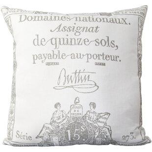 Berens Cotton Throw Pillow