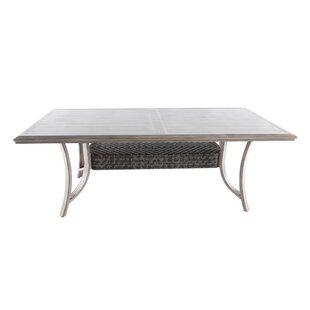 Kittur Metal Dining Table by Latitude Run