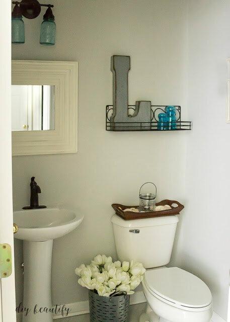 DIY Beautify bathroom makeover