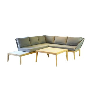 Hunnicutt 5 Seater Corner Sofa Set By Sol 72 Outdoor