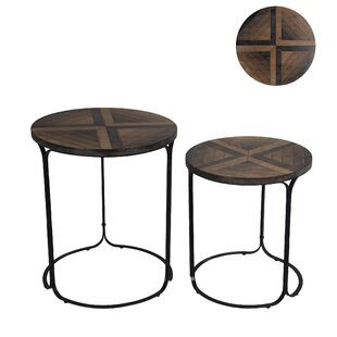Cabello 2 Piece Coffee Table Set