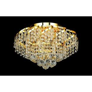 Zofia 4-Light Crystal Chandelier by House..