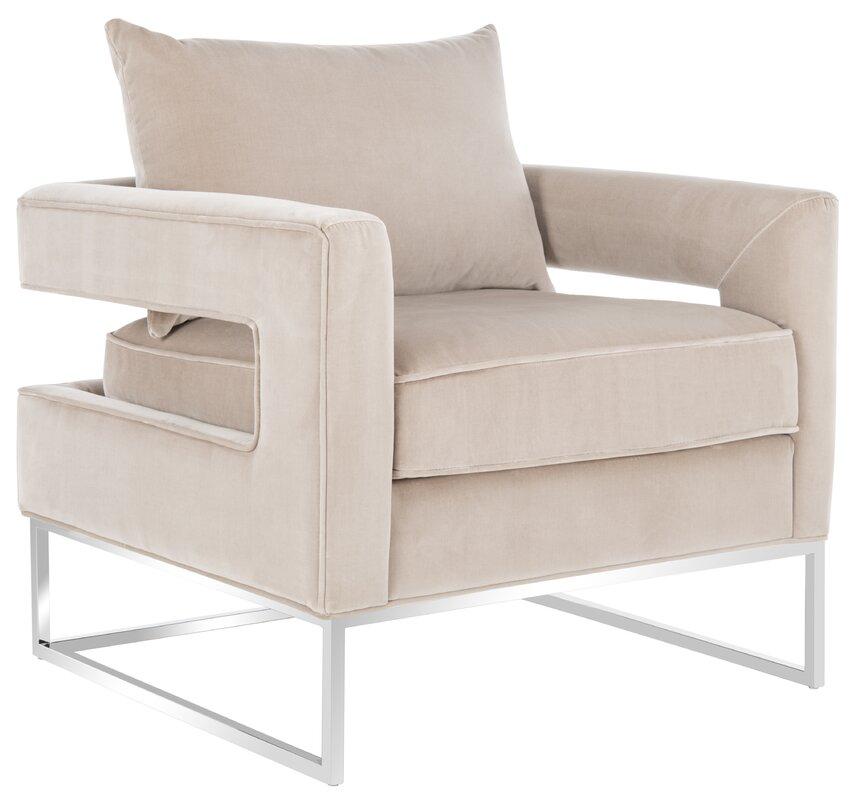 Postell Velvet Arm Chair