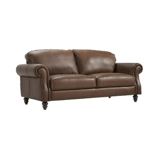 Watford Leather 2 Seater Sofa By Rosalind Wheeler