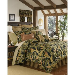 La Selva Black 4 Piece Comforter Set