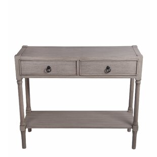 Allura 36 Solid Wood Console Table by Highland Dunes
