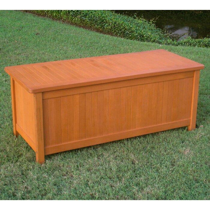 Terrific Sabbattus Outdoor Balau Deck Box Inzonedesignstudio Interior Chair Design Inzonedesignstudiocom