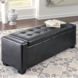 Charlton Home Byram Upholstered Storage B..