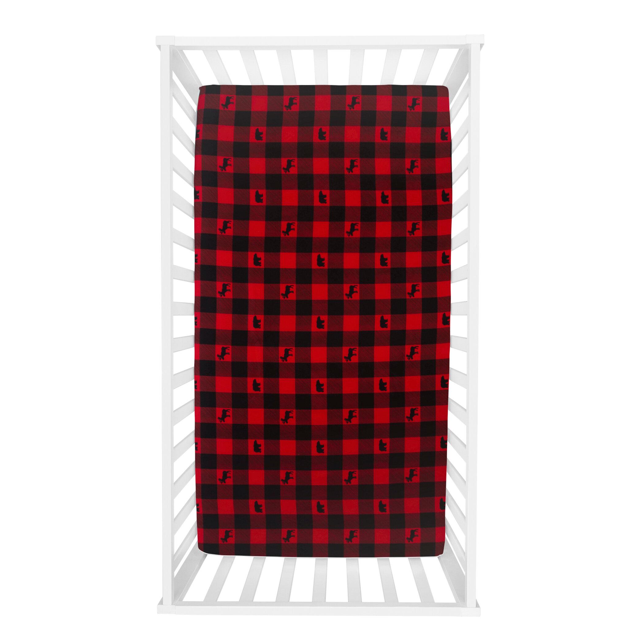 Redwood Rover Lumberjack Fitted Crib Sheets Wayfair