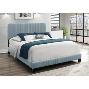 Ebern Designs Ayla Upholstered Panel Bed