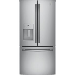 17.5 cu. ft. Energy Star French Door Refrigerator by GE Appliances