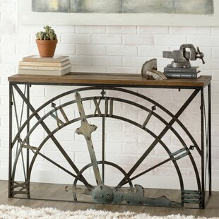 Trent Austin Design Mccrady Half-Clock Console Table