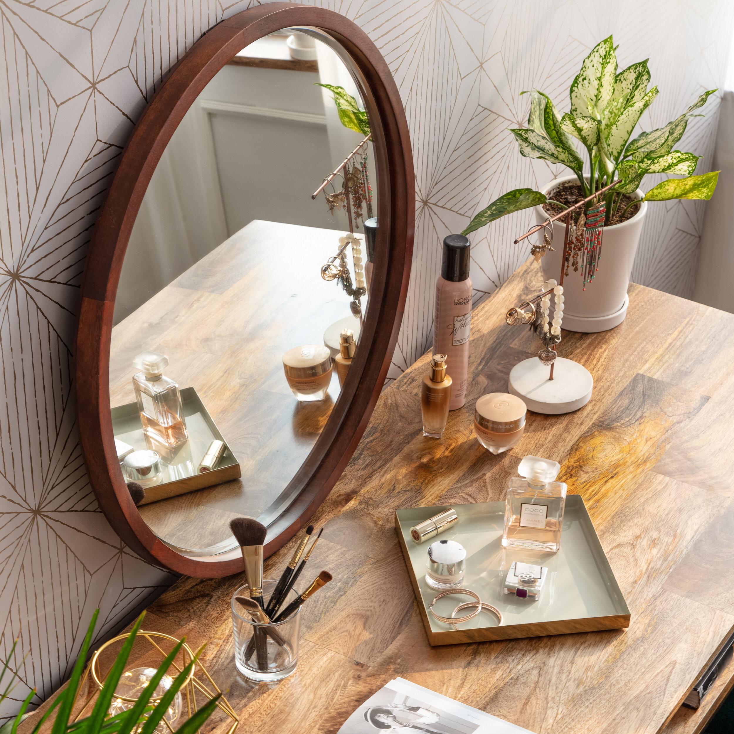 Ebern Designs Aasmin Beveled Accent Mirror Reviews Wayfair