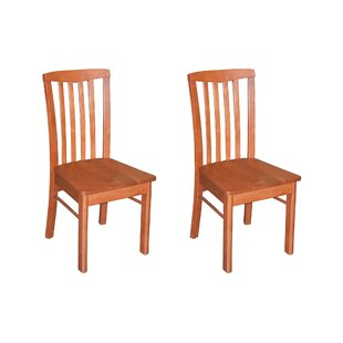 Bonenfant Side Chair in Wood Seat (Set of 2)