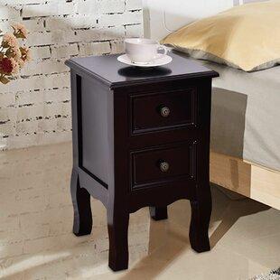 Vandalia 2 Drawer Nightstand by Winston Porter