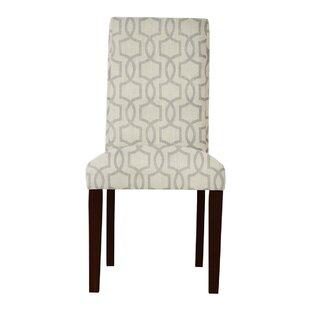 Latitude Run Beachwood Gray Parsons Chair (Set of 2)