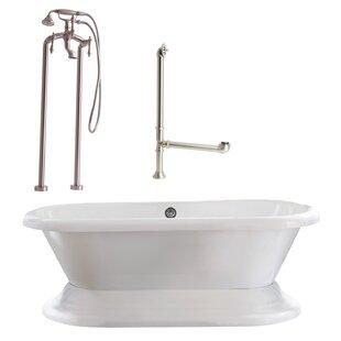 Giagni Wescott Dual Soaking Bathtub