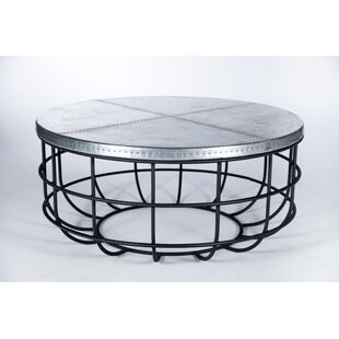 Gracie Oaks Tierra Rebar Coffee Table