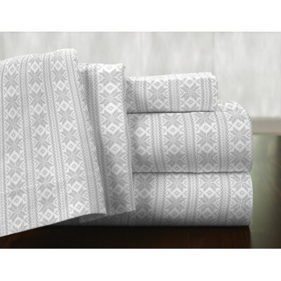 Pointehaven Polar Bear 100% Cotton Flannel Sheet Set & Reviews ...