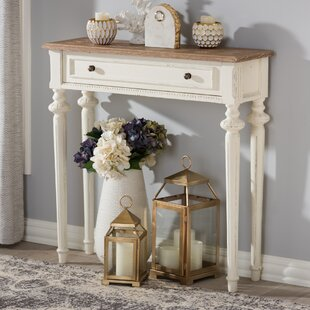 Westrick French Provincial Console Table