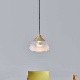 Mist 1-Light Teardrop Pendant by Seed Design