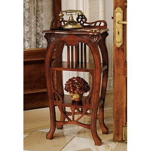 Online Reviews Art Nouveau Harp End Table By Design Toscano