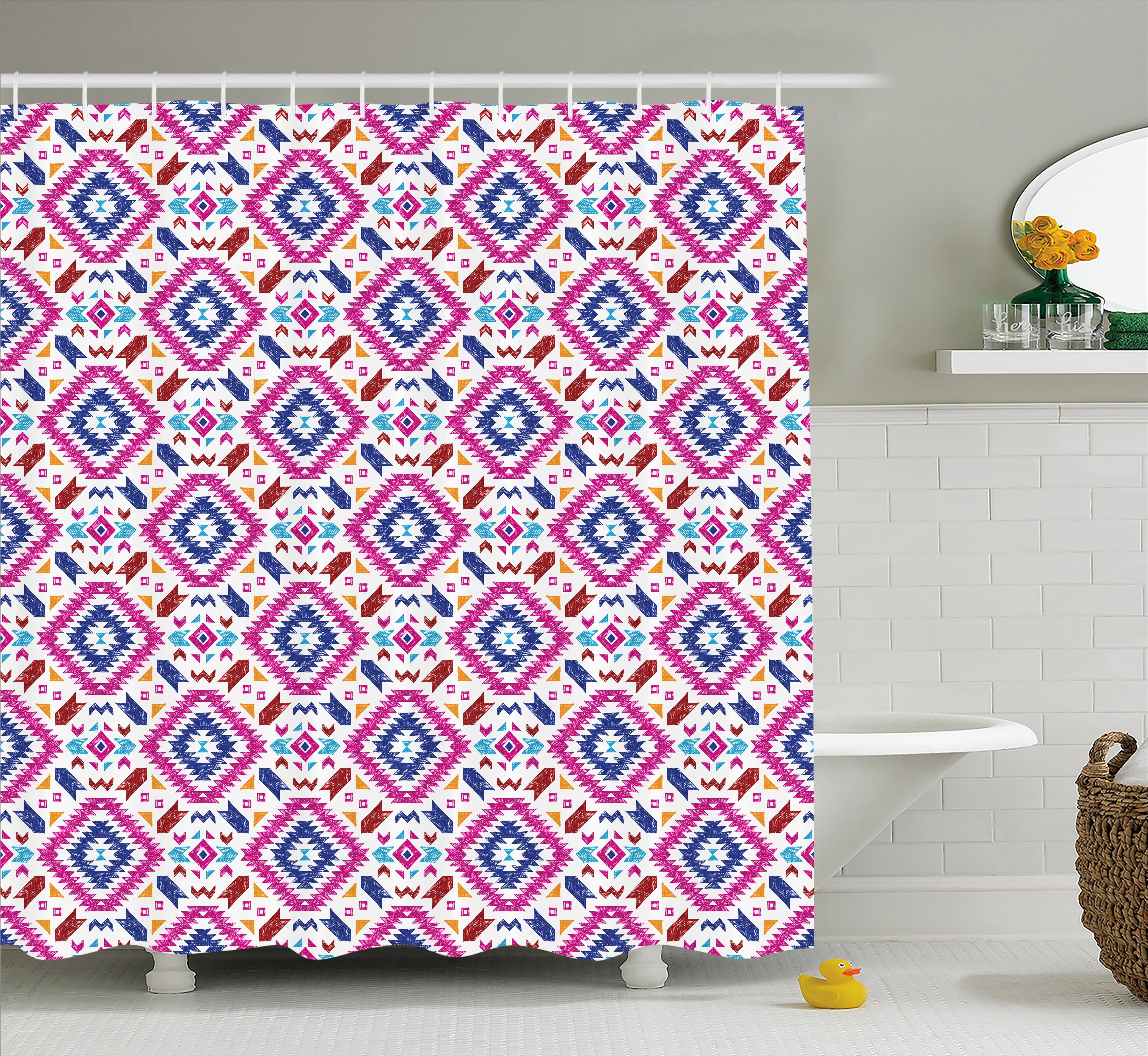 "Hand Drawn Halloween Skull Birds Fabric Shower Curtain Set Bathroom Decor 72x72/"""