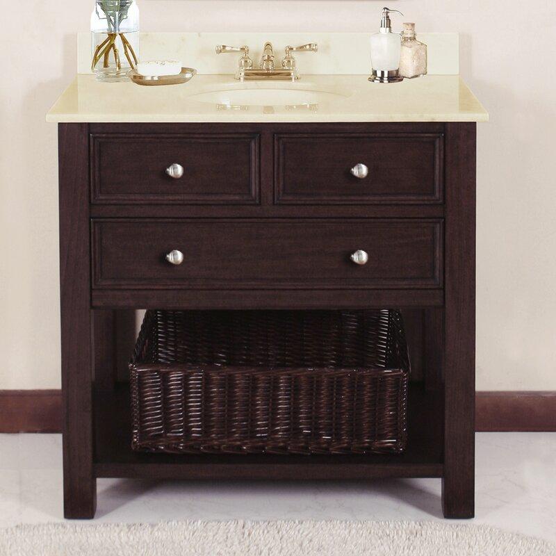 Lanza Camber 36 Single Bathroom Vanity Set Wayfair
