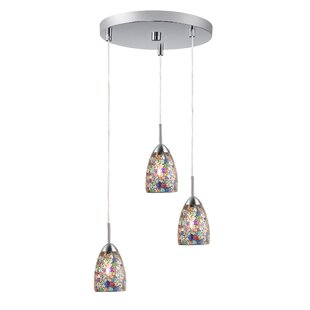 Murphy 3-Light Pendant by Ebern Designs