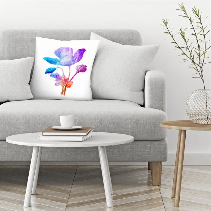 Awesome Poppy Seed Flower Throw Pillow Machost Co Dining Chair Design Ideas Machostcouk