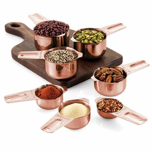 7 Piece Stainless Steel Measuring Cup Set