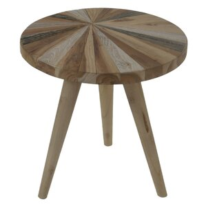 Sherita Handcrafted End Table by Union Rustic