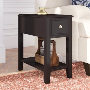 Hancock End Table With Storage DarHome Co
