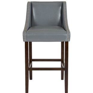 Beau Bar Stool by Alcott Hill