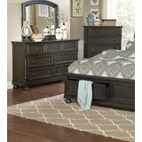 Dianna 7 Drawer Dresser with Mirror by Charlton Home®