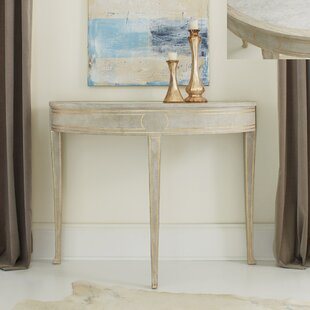 Ryn Demilume Marble Top Console Table